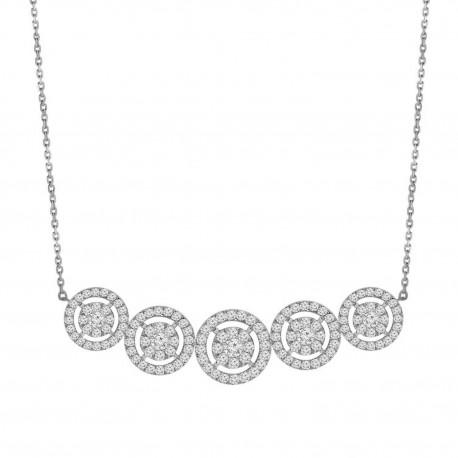 Diamond 5 Illusion Necklace