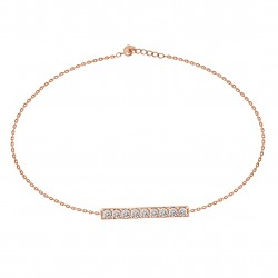 Diamond Bar Bracelet(Small)