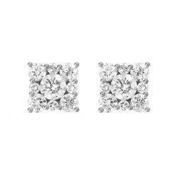 Diamond Square shaped earring(Small)