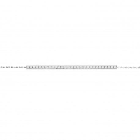 Diamond Bar Bracelet(Long)