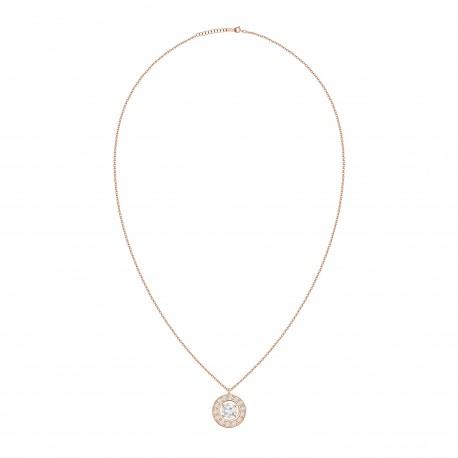 18K Fashionable Round Shaped Diamond Pendant