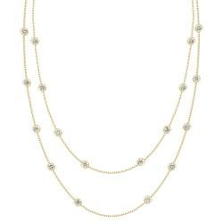 Diamond Long Station Necklace