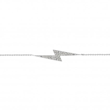 18K Diamond Simple Solitaire Necklace