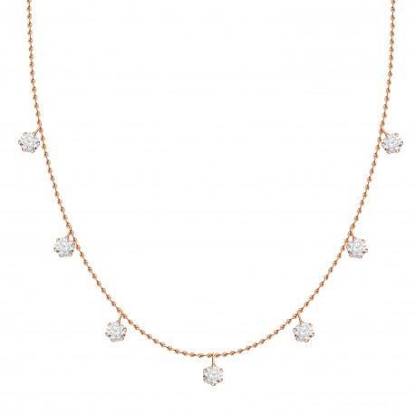 Diamond Station Necklace(Small)