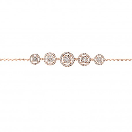Diamond 5 Illusion Bracelet
