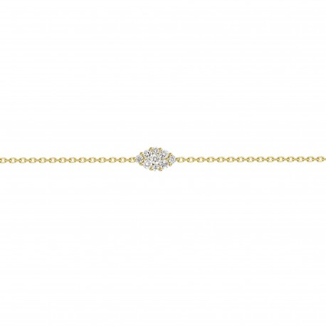Diamond Marquise shaped Bracelet