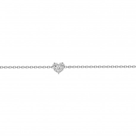 Diamon Heart shaped Bracelet