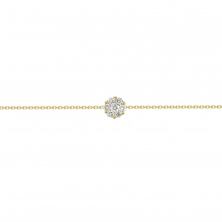 Diamond Round shaped Bracelet