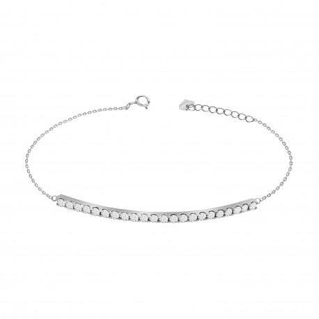 Diamond Bar Bracelet(Large)
