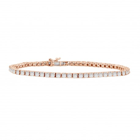 Diamond Illusion Setting Bracelet