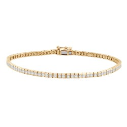 Princess-cut Diamond Bracelet