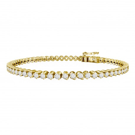 Diamond Eternity Bracelet(Medium)