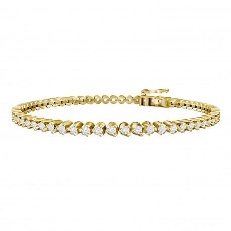 Diamond Eternity Bracelet(Large)