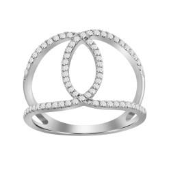 Diamond Infinity Ring